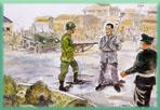 國府軍隊假綏靖與清鄉之    名,在各地濫捕濫殺,致    使社會上許多菁英分子遭    受無情恐怖的迫害。而二    二八事件及清鄉、白色恐    怖深烙人心,成為台灣人    最大的夢魘。    繪圖/圖片提供:邱若龍