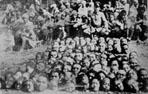 日本人於霧社事件中,採「以夷制夷」的手段,鼓勵親日的原住民部落出草,殺害起義的原住民部落,製造部落之間的對立。